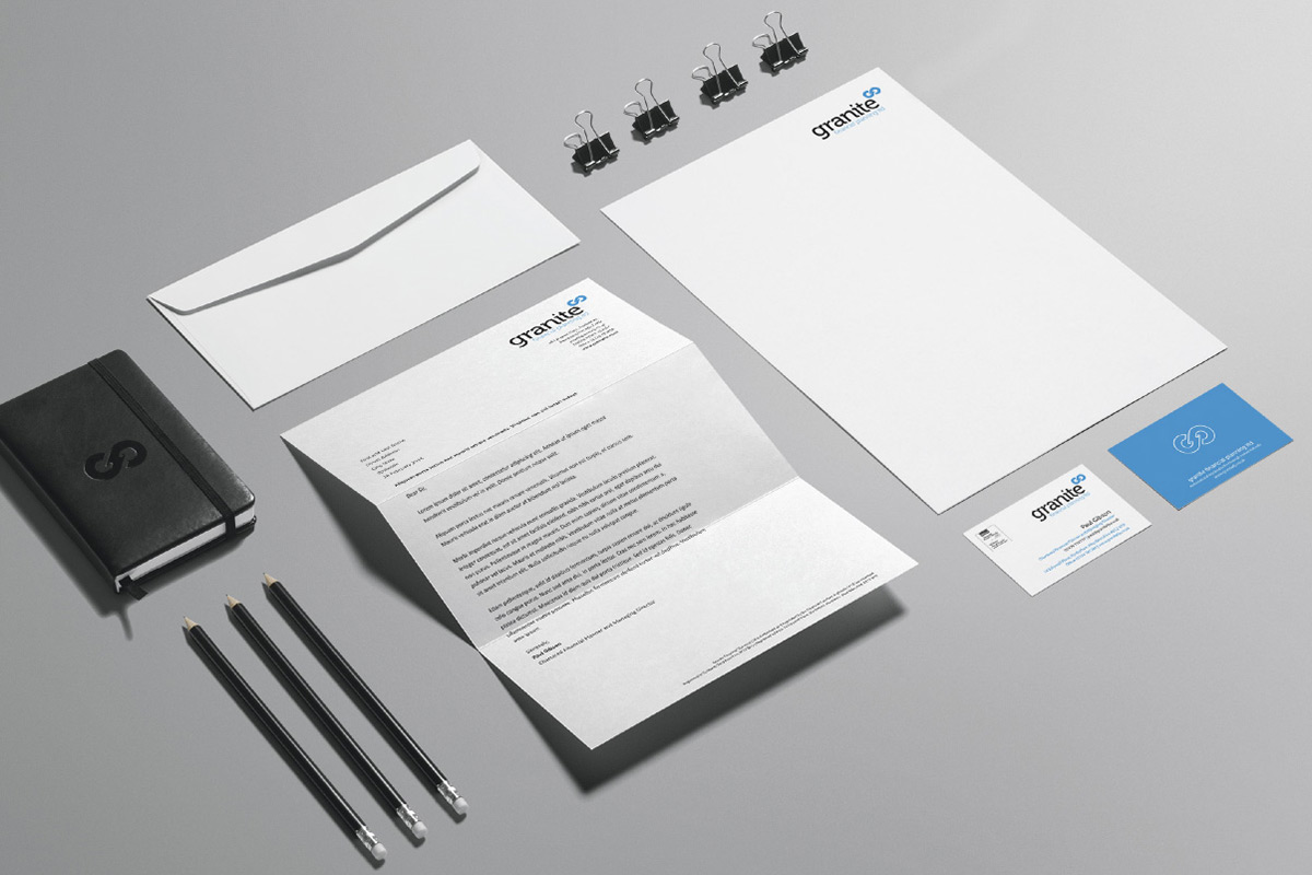 Granite Financial Planning brand identity
